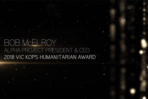 56th Annual Alonzo Awards | Vic Kops Humanitarian
